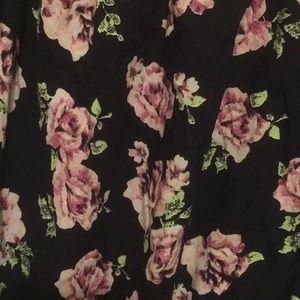 ASOS Pants - ASOS Floral Print Romper Size 6